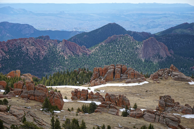 View east from McCurdy Peak.