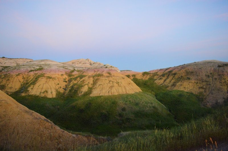 Yellow Mounds<br> Badlands, SD