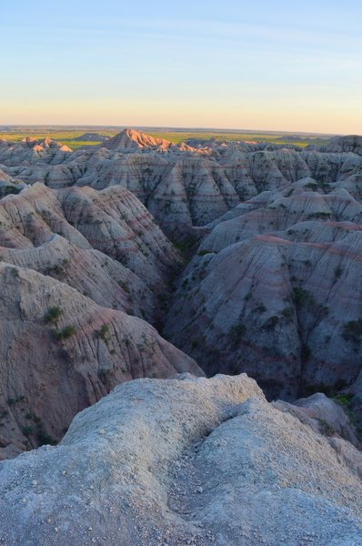 Badlands, SD.