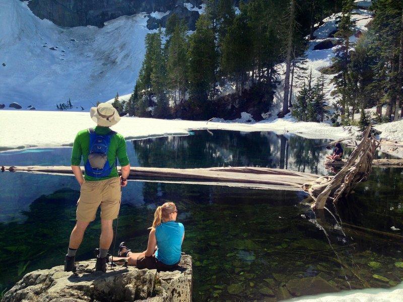 Lake Serene earns its name!
