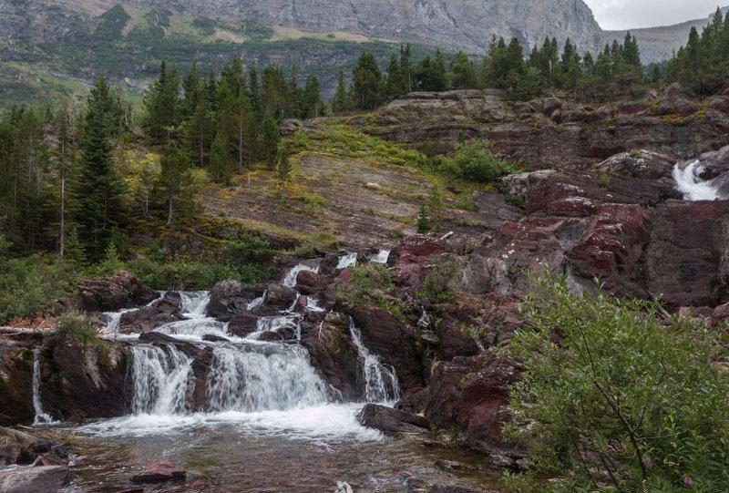 Overlooking Redrock Falls.