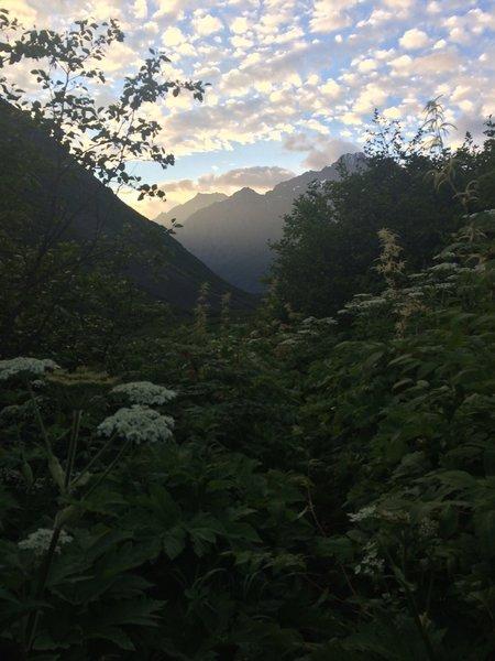 Crow Creek Pass.