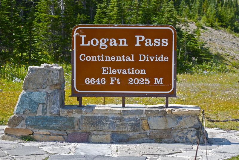 At Logan Pass.