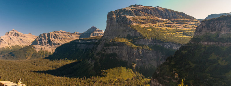 View from Logan Pass.