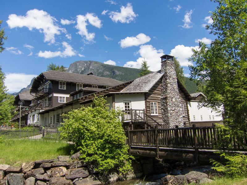 Lake McDonald Lodge.