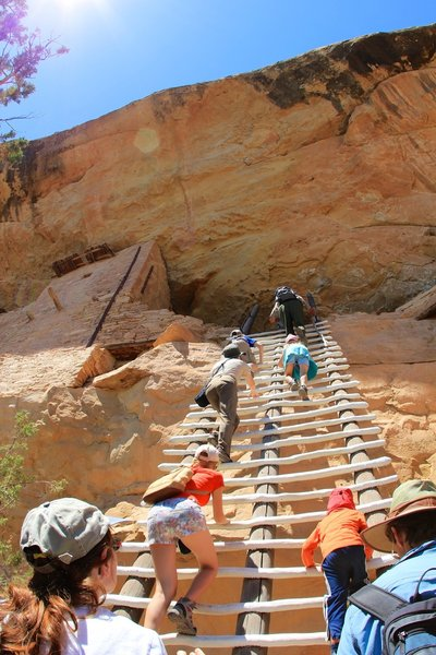This Cliff Dwelling Tour is only for the most adventurous.