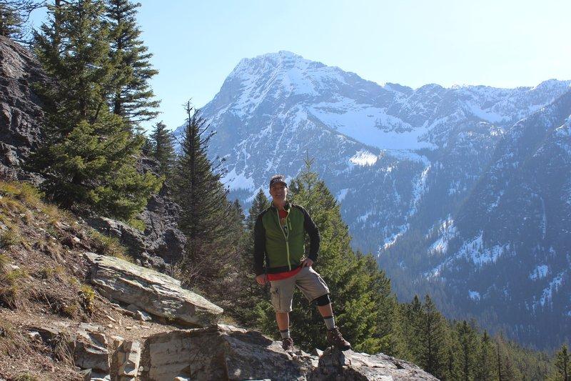 Mount Brown Trail in Glacier National Park.