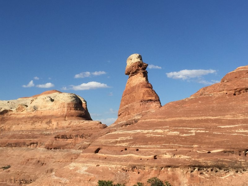Rock formation. Big Spring Canyon Trail.