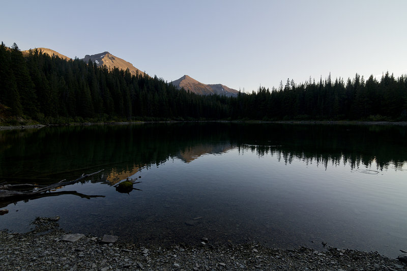Sunset at Ole Lake