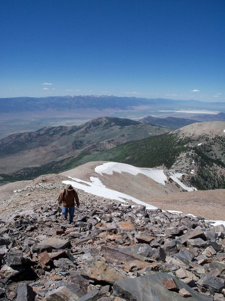 It gets steep and rocky as you approach the summit, but the view can't be beat.