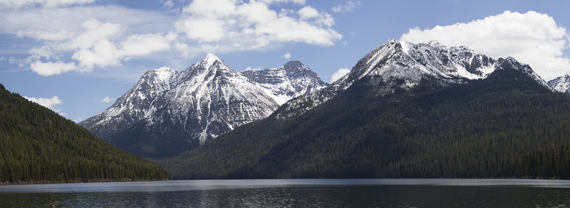 View from Quartz Lake Campground.