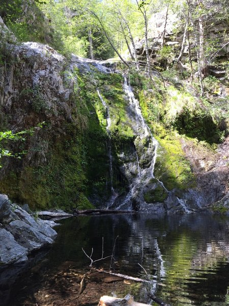 Cooper Canyon Falls in late spring.