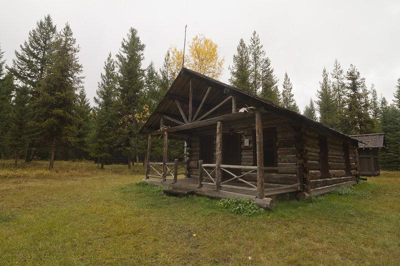 Patrol cabin.