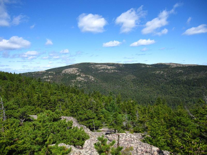 Sargent Mountain.