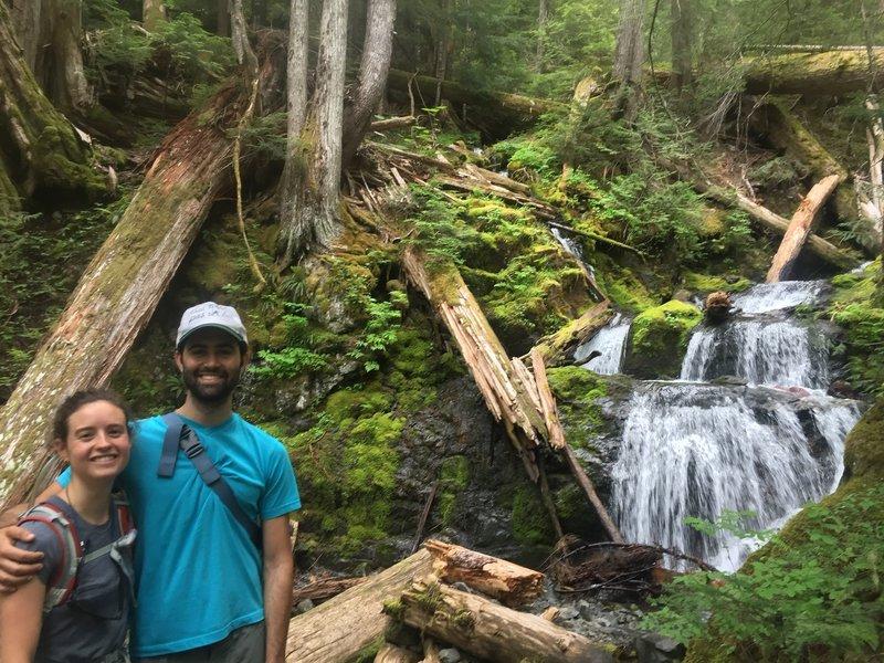 Donahue Creek Falls.