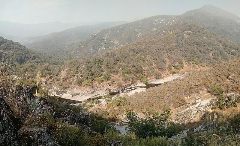 North Fork of the Kaweah River from the North Kaweah Trail.