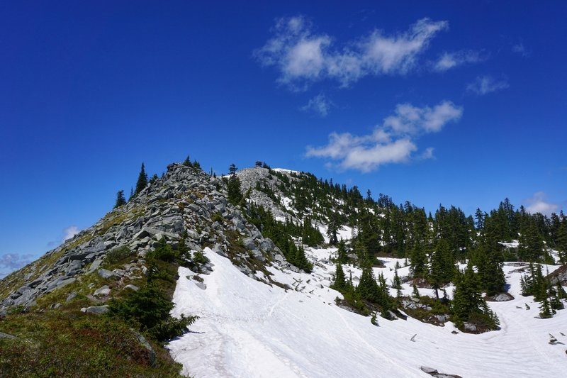 Granite Mountain is aptly named for its large scree field at top. Don't be fooled, this view takes 30-45 min on a nice day!