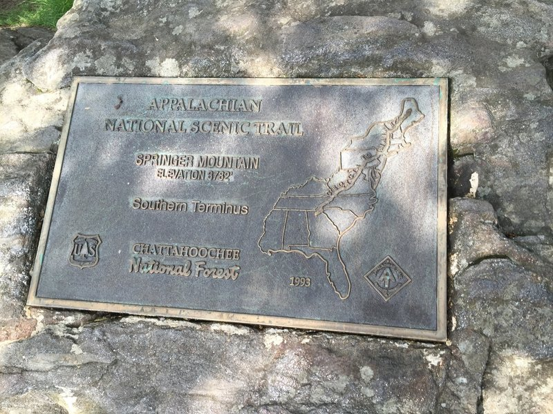 Southern Terminus of the Appalachian Trail.