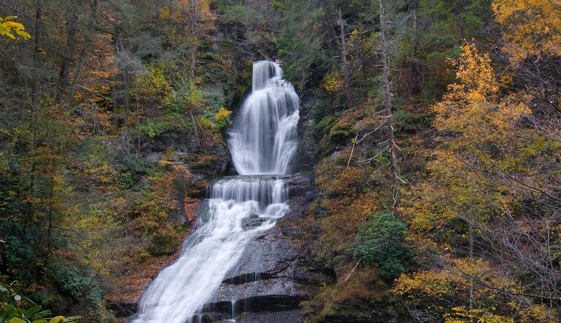 Dingmans Falls. with permission from AcousticWalden Flickr.com/kscherer11