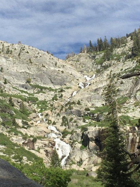 Tokopah Falls.