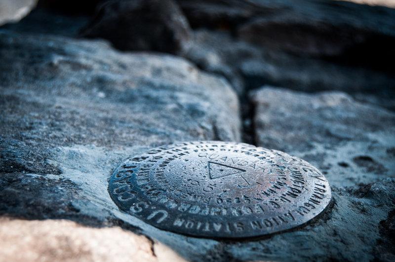 USGS tag for Quandary Peak.
