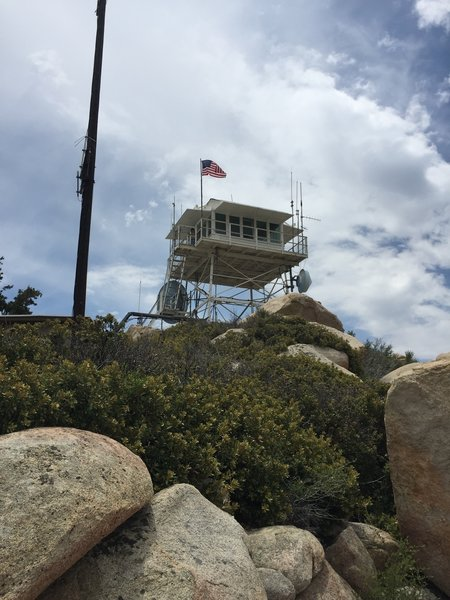 The Keller Peak Fire Lookout.