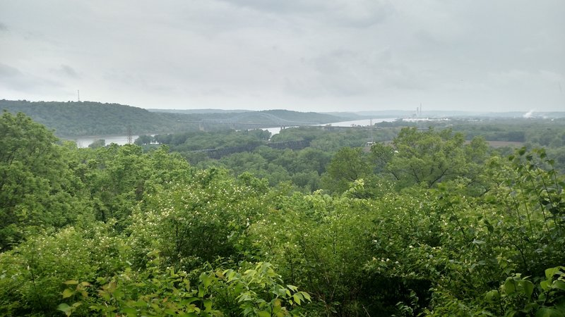 Best view of the Ohio River from Shawnee Lookout!