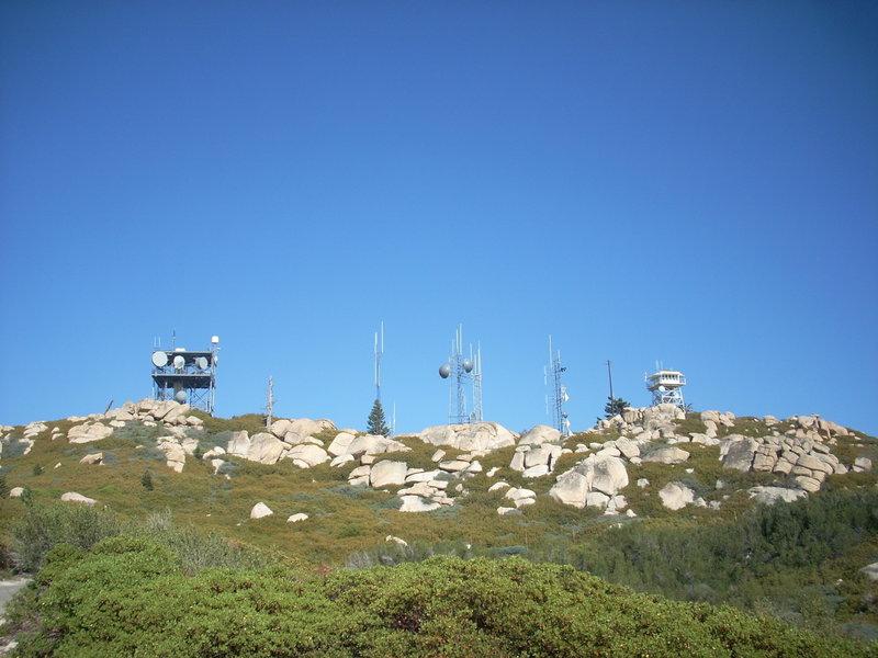 Keller Peak Lookout. with permission from aliandjgohiking