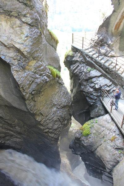 Trummelbach Falls.
