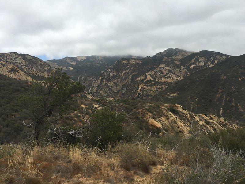 Gaviota Peak in the distance.
