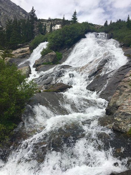 Another shot of the waterfall awaiting you at the end of the trail.