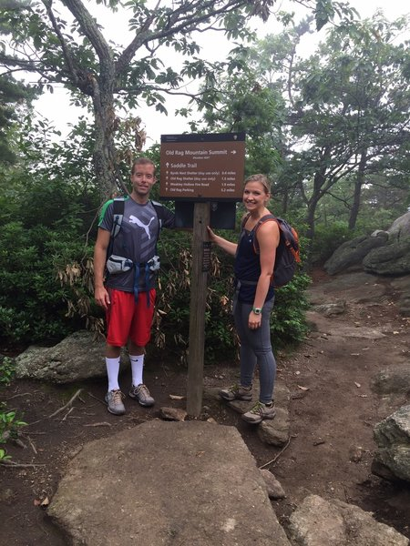 Old Rag Summit. Took 6.5 hours but totally worth it!