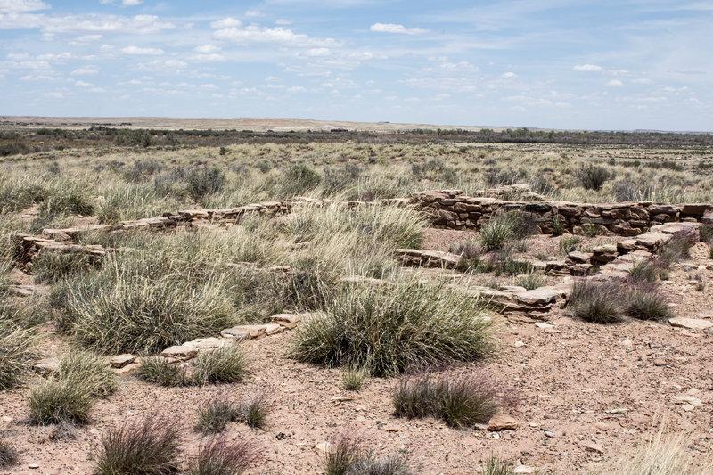 Puerco Pueblo remains.
