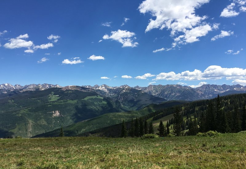 Panoramic view near the top of the Great Escape.