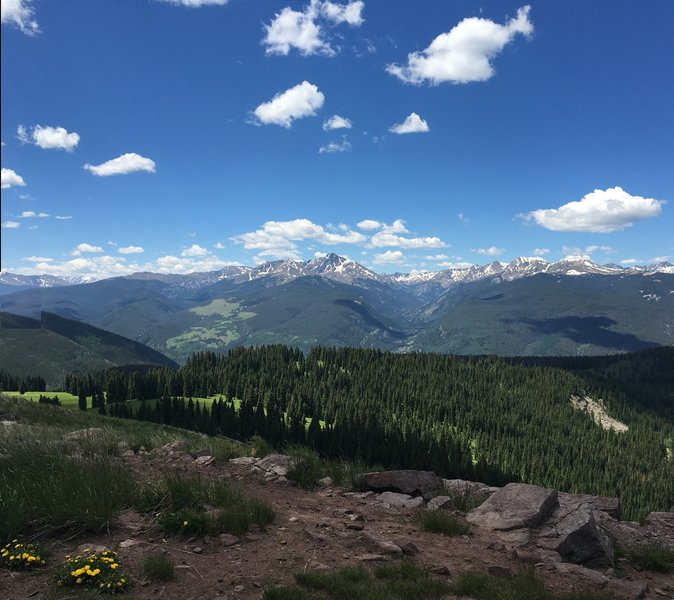 270 degree view from Ptarmigan Point (so named here). A real must see!