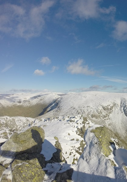 View from Dow Crag.