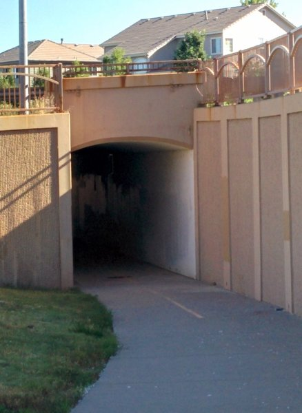 Tunnel Under 136th Ave.