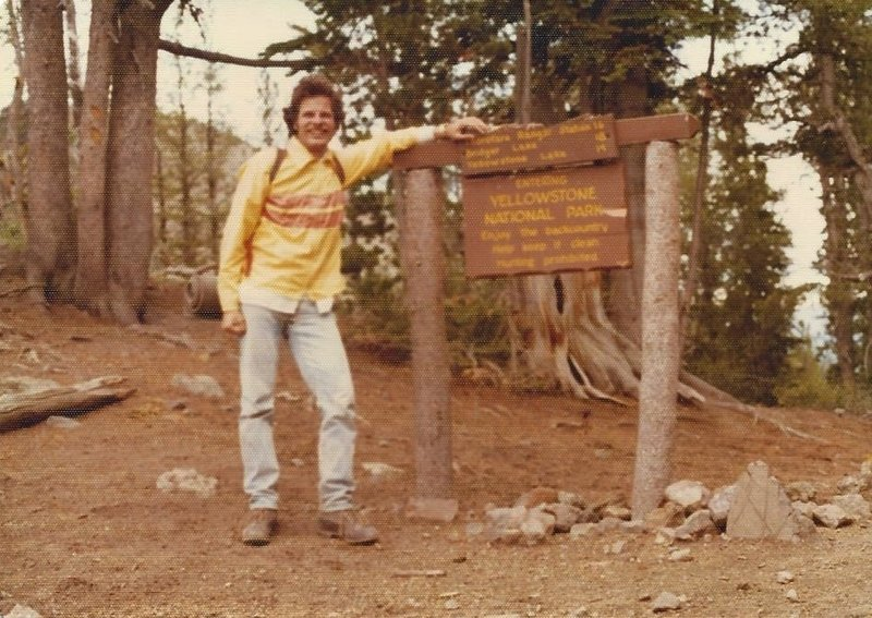 Author Tom Carter at Eagle Pass in 1977.