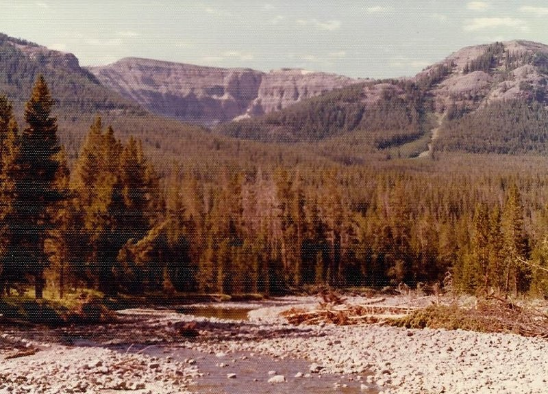 The north side of the Trident from Mountain Creek.