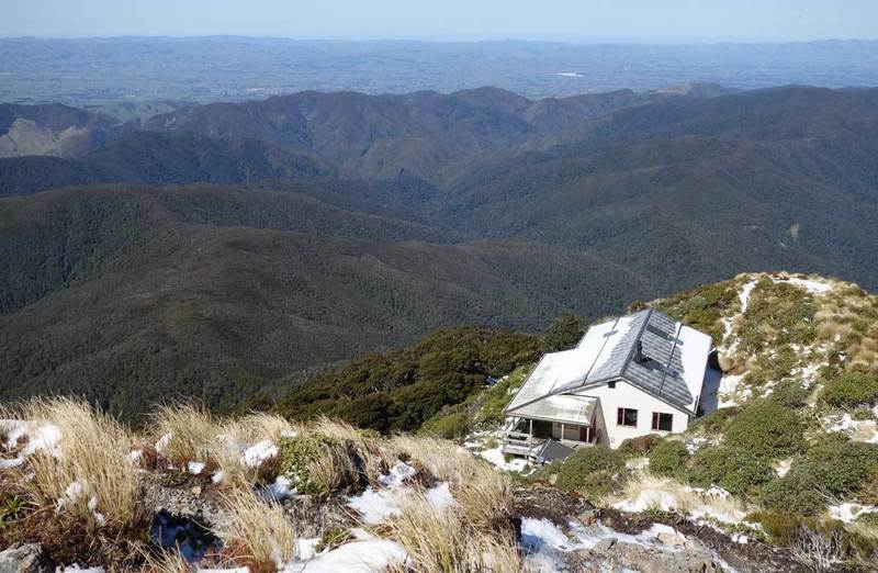 View above Jumbo Hut.