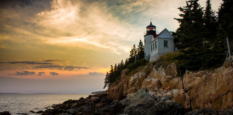 The Iconic Bass Harbor Lighthouse