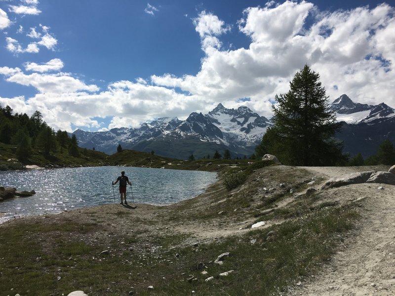 Grunsee Lake.