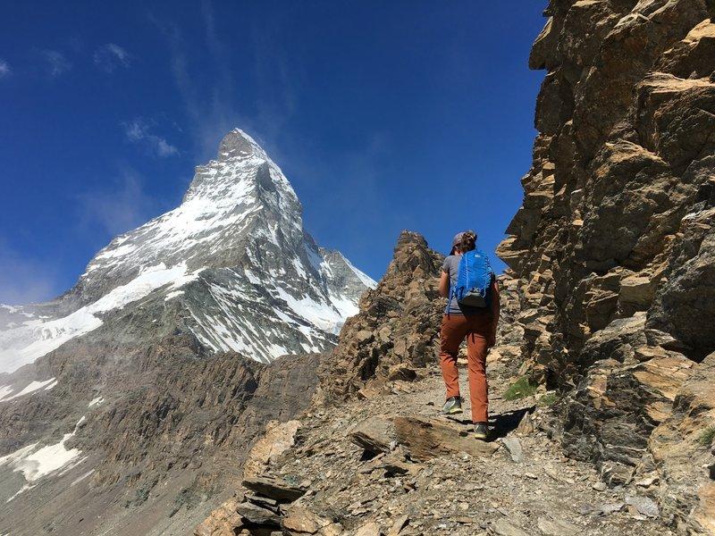 Headed up the Matterhorn.