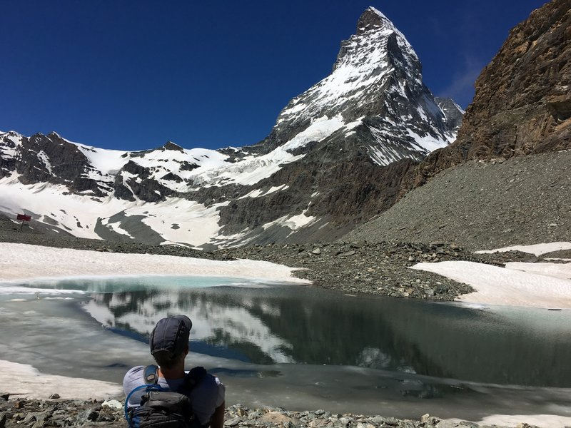 Quite a Matterhorn view!