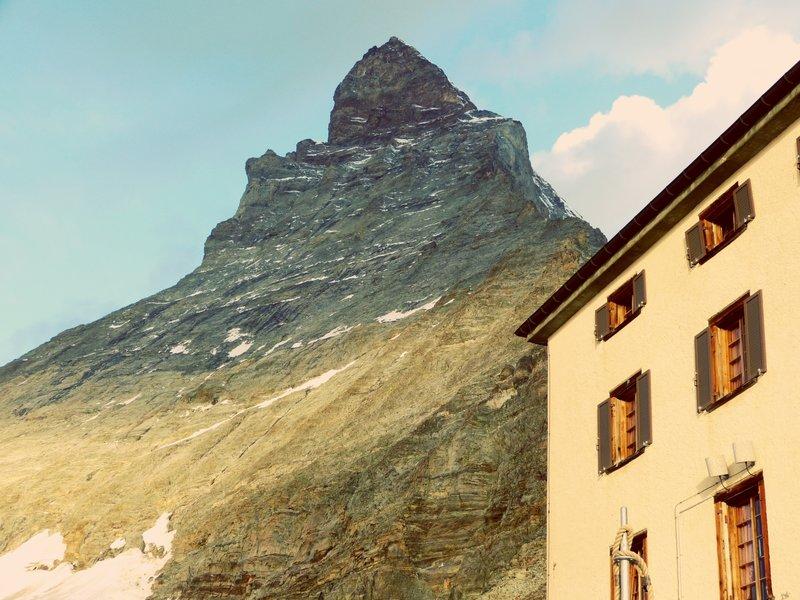 Hörnlihütte Matterhorn.