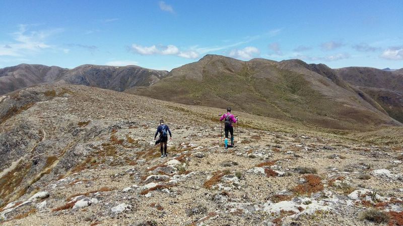 Middle Range.  8km of the best alpine running in the North Island.