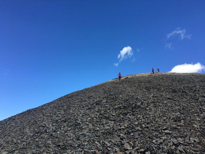 View toward summit on South Summit Trail