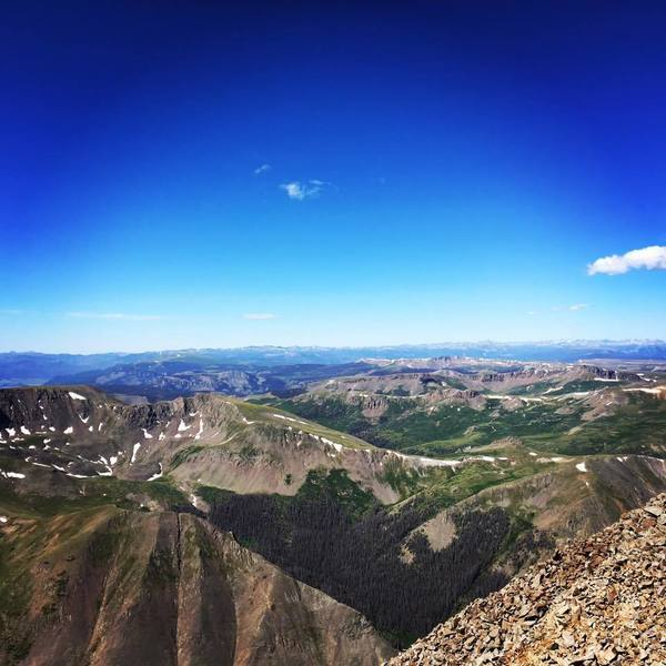 San Luis Peak South Summit Route Hiking Trail, Creede