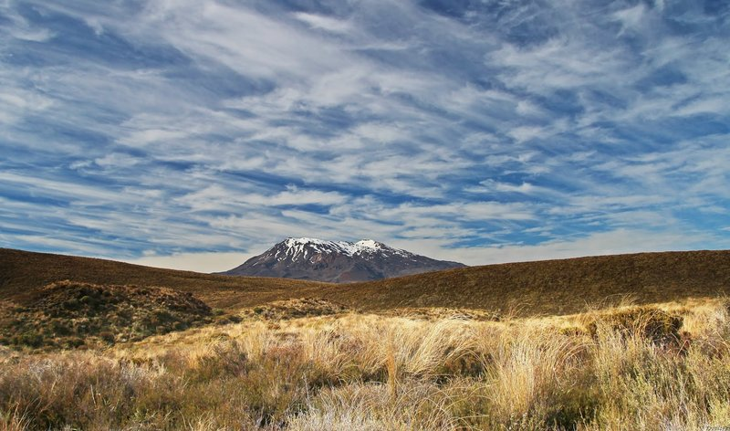 Views of Ruapehu from the Mangatepopo Track.