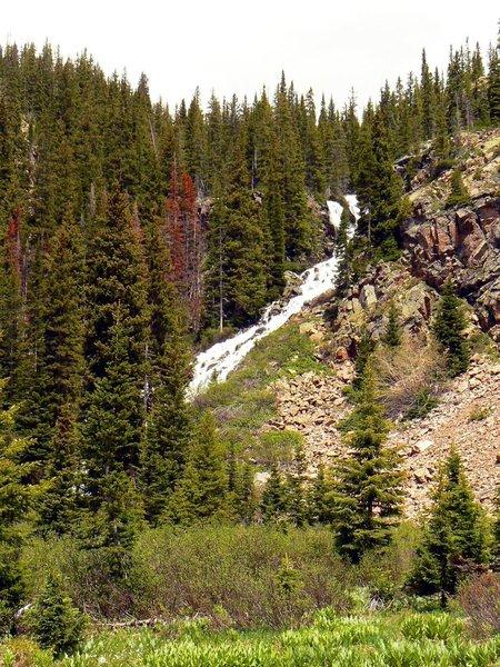 Upper falls along Pitkin Creek Trail. with permission from intian Adam Bilinski